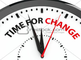 Clock - Time for change