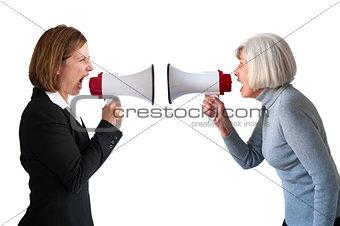 women arguing