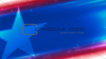 background in national colors of America