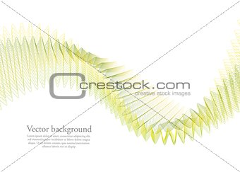 Bright abstract concept waves background