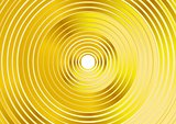 Abstract golden rings vector background