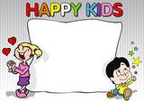 Happy Kids Background
