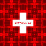 Swiss international day background.