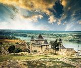 Khotyn Fortress in Ukraine