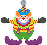Adorable Happy Clown