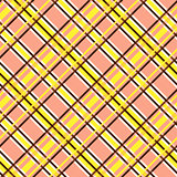 Seamless diagonal pattern in yellow and terracotta