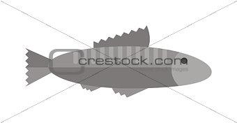 Fish vector illustration.