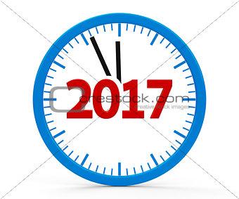 Clock 2017, whole