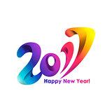 New Year 2017 celebration background