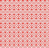 abstract pattern heart