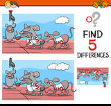preschool differences activity