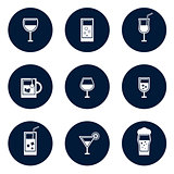 round glasses icons