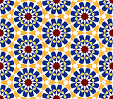 moroccan mosaic seamless