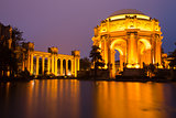 Palace Of Fine Arts, San Francisco, Dusk
