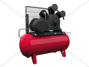 3D rendering air compressor