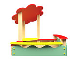 3D rendering sandbox