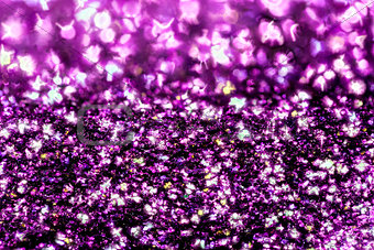 Abstract purple glitter background