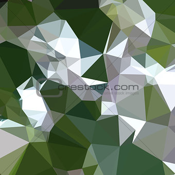 Castleton Green Abstract Low Polygon Background