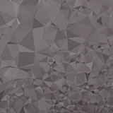 Trolley Grey Abstract Low Polygon Background
