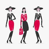 Vector Illustration Fashion