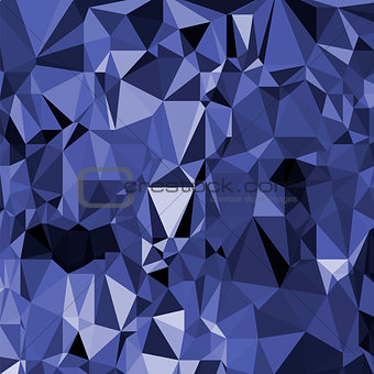 Abstract Digital Polygonal Blue Background