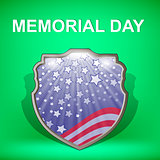 Memorial Day Celebration Poster.
