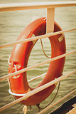 Lifebuoy on board