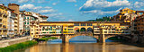 Ancient bridge Ponte Vecchio in Florence