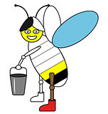 Color by example bee