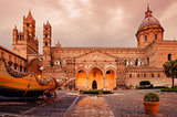 Palermo, Sicily, Italy: the cathedral