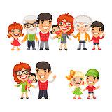 Big and Happy Family Set