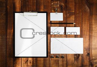 Blank business brand template