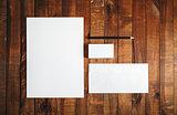 Blank brand template