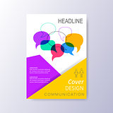 Abstract cover design template