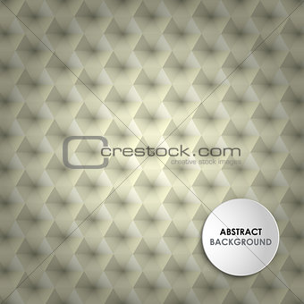 Abstract background with hexagons honeycomb template