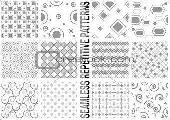 12 Seamless Patterns