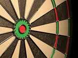 Darts board empty