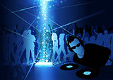 DJ Dance Party Background