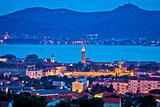 City of Zadar evening skyline