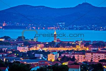 City of Zadar evening skyline
