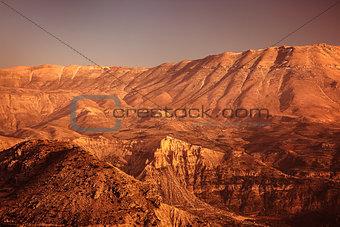 Beautiful desertic landscape