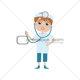 Boy Future Doctor