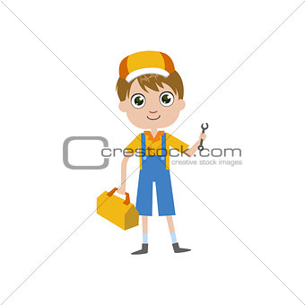 Boy Future Plumber