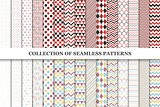 Collcetion of geometric seamless patterns.