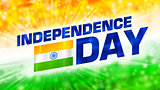 Vector abstract Indian Independence Day background. EPS 10