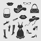 Women Things Vector Symbol