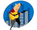 Singer gives concert