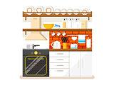 Kitchen flat style