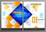 Annual Report and Presentation Template design