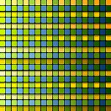 Colorful abstract tech squares vector background